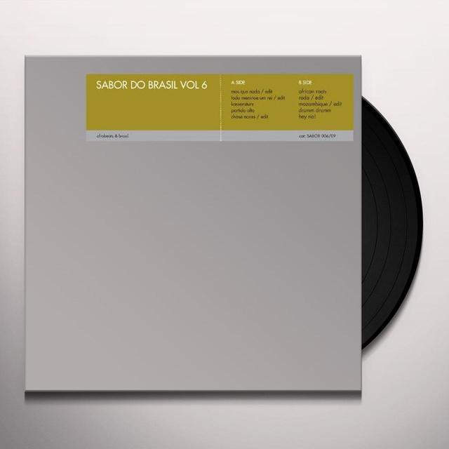 Sabor Do Brasil Vi / Various (Uk) SABOR DO BRASIL VI / VARIOUS Vinyl Record - UK Import