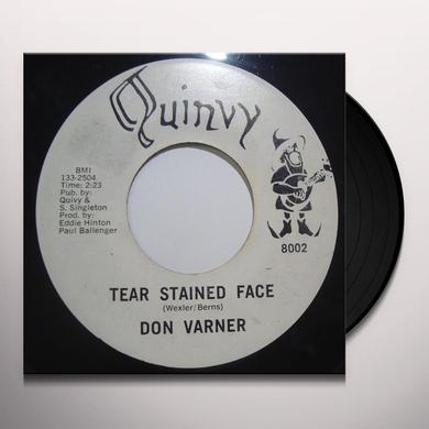 Don Varner TEAR STAINED FACE/MOJO MAMA Vinyl Record