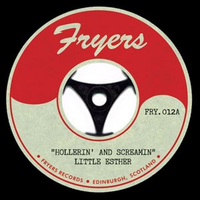 Little Esther HOLLERIN' & SCREAMIN' Vinyl Record - UK Release