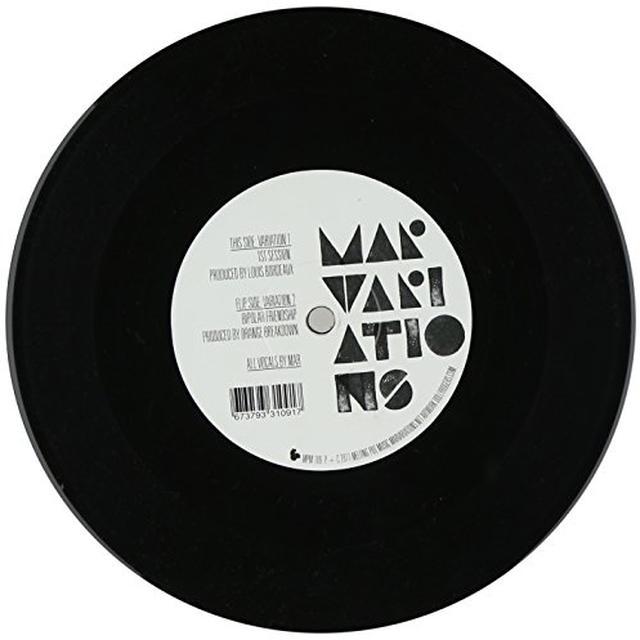 MAR VARIATIONS 1 + 2 Vinyl Record - UK Import