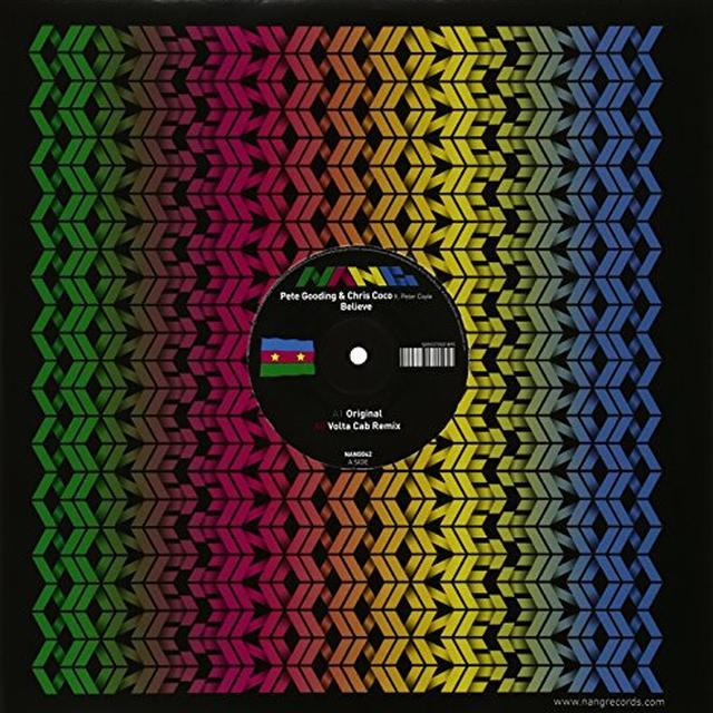 Pete Gooding & Chris Coco BELIEVE Vinyl Record - UK Release