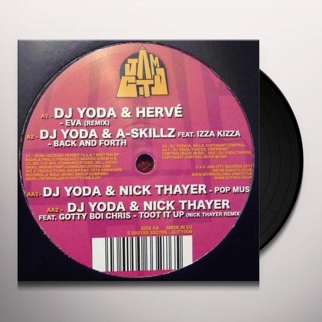 DJ YODA & FRIENDS EP Vinyl Record - UK Import