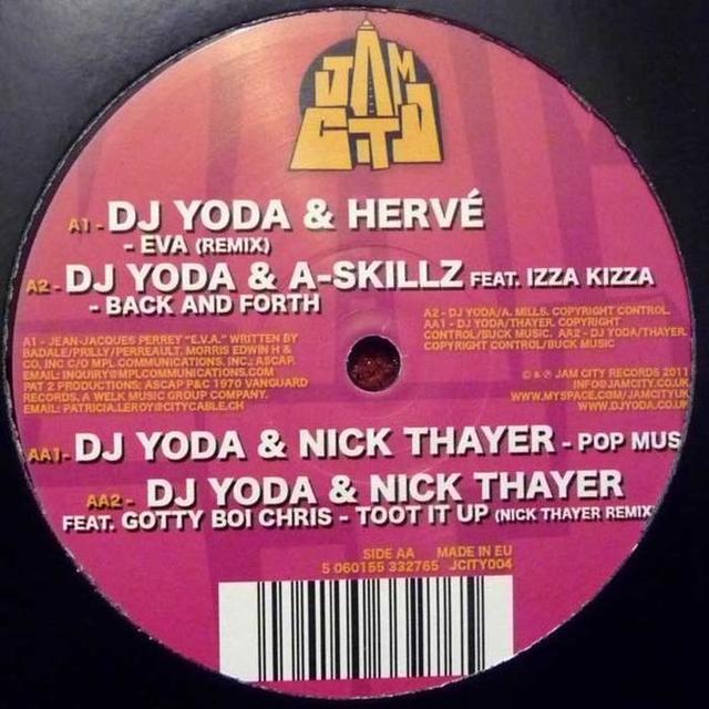 DJ YODA & FRIENDS EP Vinyl Record - UK Import