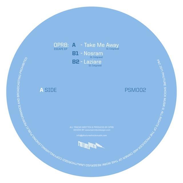 Opr8 ESCAPE EP Vinyl Record - UK Import