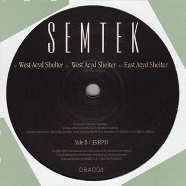 Semtek WEST ACYD SHELTER Vinyl Record - UK Release