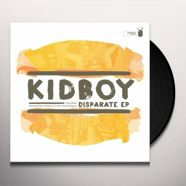 Kidboy DISPARATE EP Vinyl Record - UK Release