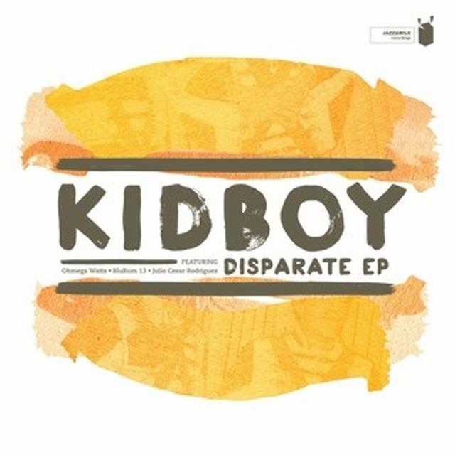 Kidboy DISPARATE EP Vinyl Record - UK Import