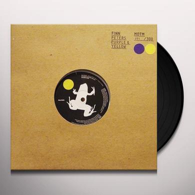 Finn Peters YELLOW/PURPLE Vinyl Record - UK Import, 10 Inch Single