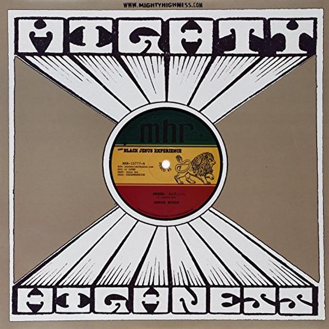 Black Jesus Experience ARADA Vinyl Record - UK Import