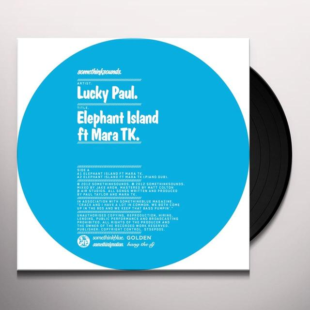 Lucky Paul ELEPHANT ISLAND Vinyl Record - UK Import