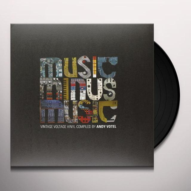 Andy Presents Music Minus Music Votel ANDY VOTEL PRESENTS MUSIC MINUS MUSIC Vinyl Record - UK Release