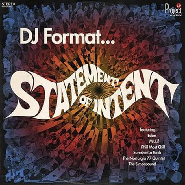 Dj Format STATEMENT OF INTENT Vinyl Record - UK Import