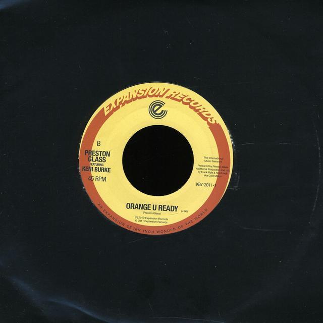 Keni Burke SO REAL/ORANGE U READY Vinyl Record