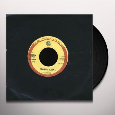 Keni Burke SO REAL/ORANGE U READY Vinyl Record - UK Import