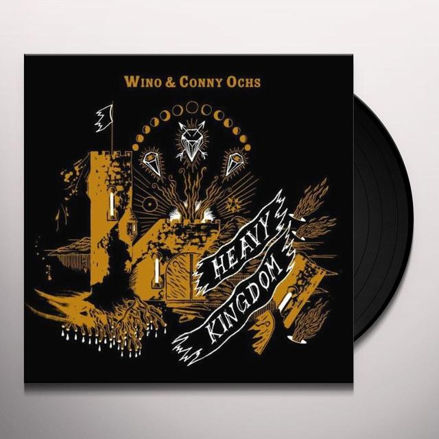 Wino & Conny Ochs HEAVY KINGDOM Vinyl Record - UK Release
