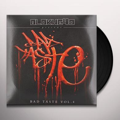 Blokhe4D Presents VOL. 4-BAD TASTE Vinyl Record