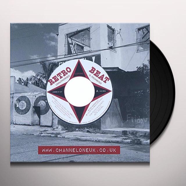 Petermarshallhitechrootsdynamics ROAD IS ROUGH/SOUNDBOY Vinyl Record - UK Import
