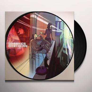 Brookes Brothers LAST NIGHT/WAR CRY Vinyl Record - UK Import