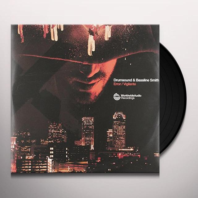 Drumsound & Simon Bassline Smit ERROR/VIGILANTE Vinyl Record - UK Release