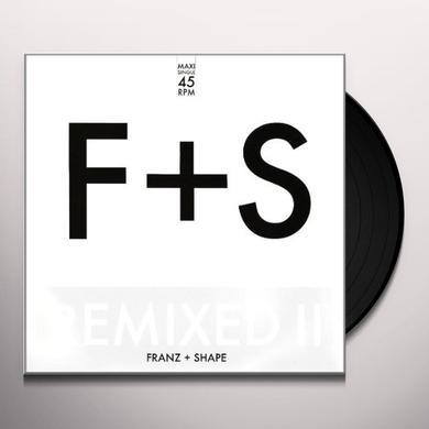 Franz & Shape REMIXED II Vinyl Record - UK Import