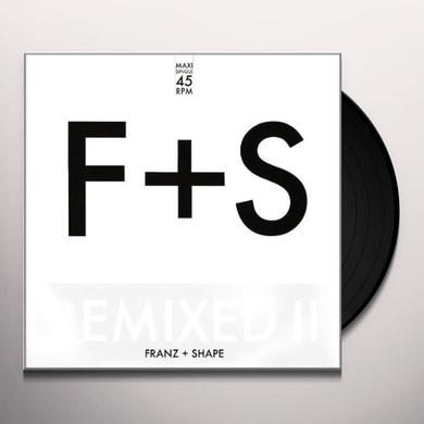 Franz & Shape REMIXED II Vinyl Record