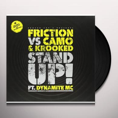 Friction STAND UP (VS CAMO & KROOKED FT DYNAMITE)/LIFE Vinyl Record - UK Import