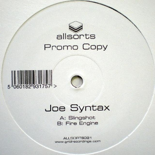Joe Syntax SLINGSHOT/FIRE ENGINE Vinyl Record