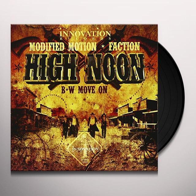 Modified Motion.Factor HIGH NOON/MOVE ON Vinyl Record - UK Import