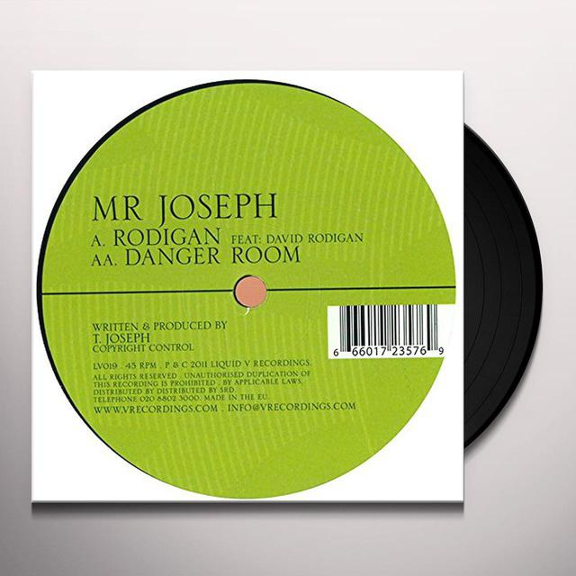 Mr Joseph RODIGAN/DANGER ROOM Vinyl Record