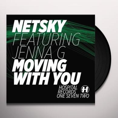 Netsky MOVING WITH YOU Vinyl Record - UK Release