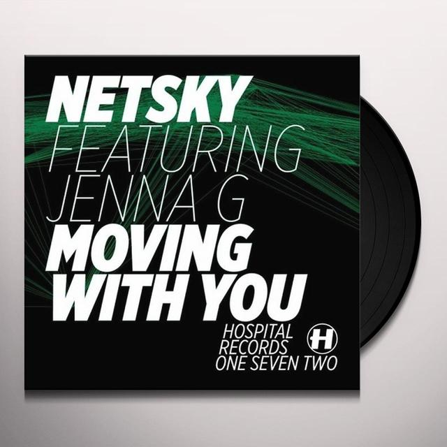 Netsky MOVING WITH YOU Vinyl Record - UK Import
