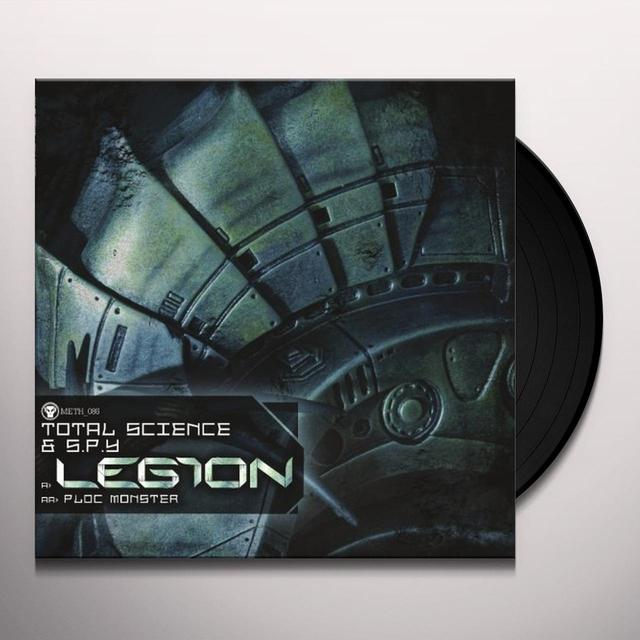 Total Science & S.P.Y. LEGION/PLOC MONSTER Vinyl Record