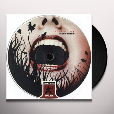 Allez Allez DEFEATIST Vinyl Record - UK Import