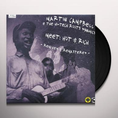 Martin Campbell & Hi-Tech Roots Dynamics MEET HOT & RICH Vinyl Record - UK Import