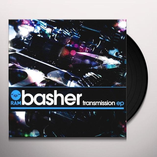 Dj Basher TRANSMISSION EP Vinyl Record