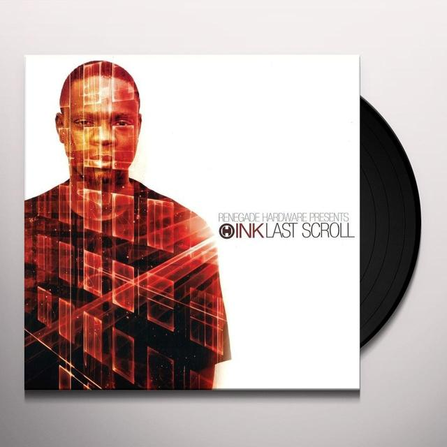 Dj Ink LAST SCROLL Vinyl Record - UK Release