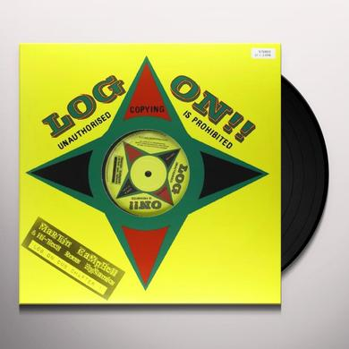 Hi Tech Roots Dynami LOG ON DUB-CHAPTER 1 Vinyl Record - UK Release