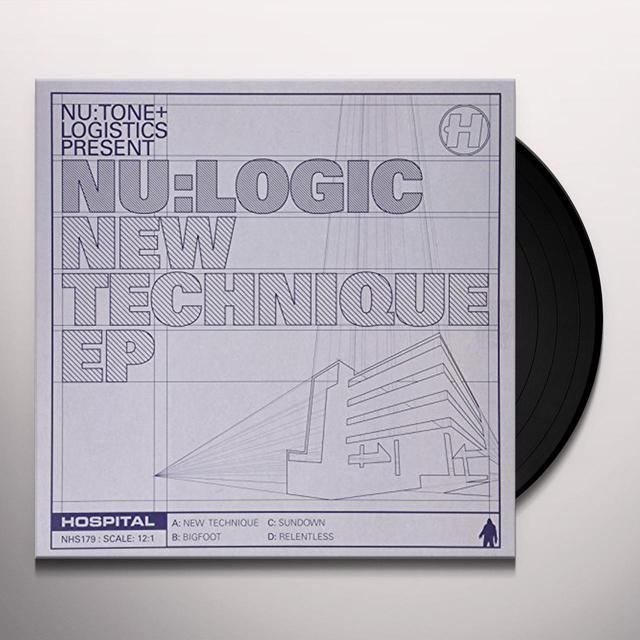 Nu:Logic NEW TECHNIQUE EP Vinyl Record - UK Release