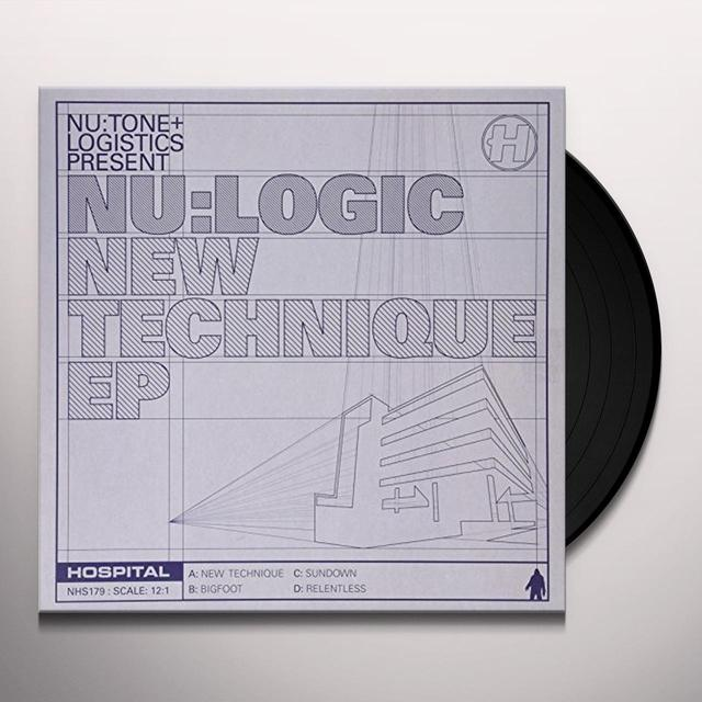Nu:Logic NEW TECHNIQUE EP Vinyl Record - UK Import