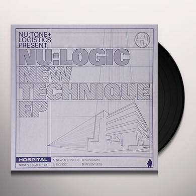 Nu:Logic NEW TECHNIQUE EP Vinyl Record - UK Import