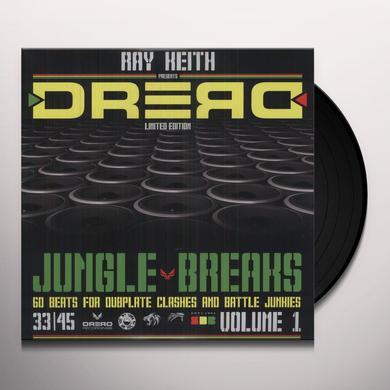 Ray Keith DREAD JUNGLE BREAKS Vinyl Record - UK Import