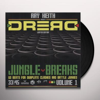 Ray Keith DREAD JUNGLE BREAKS Vinyl Record