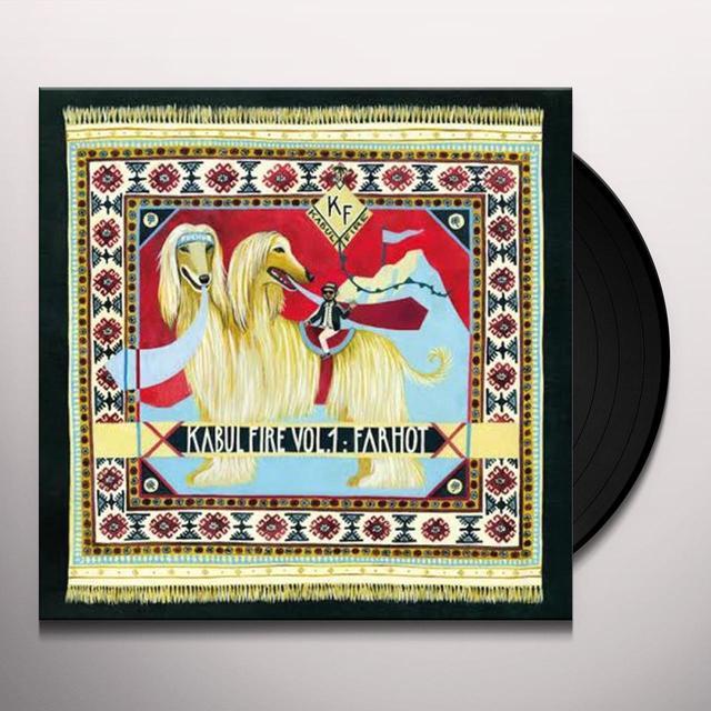 Farhot KABUL FIRE 1 Vinyl Record