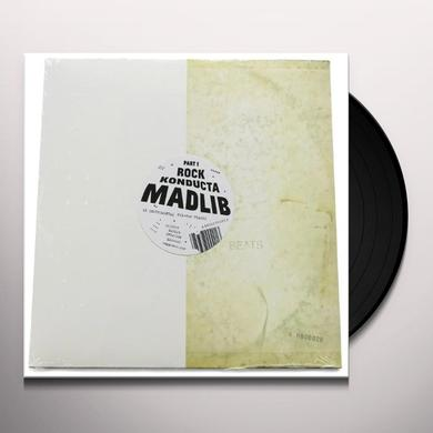 Madlib ROCK KONDUCTA PART ONE Vinyl Record