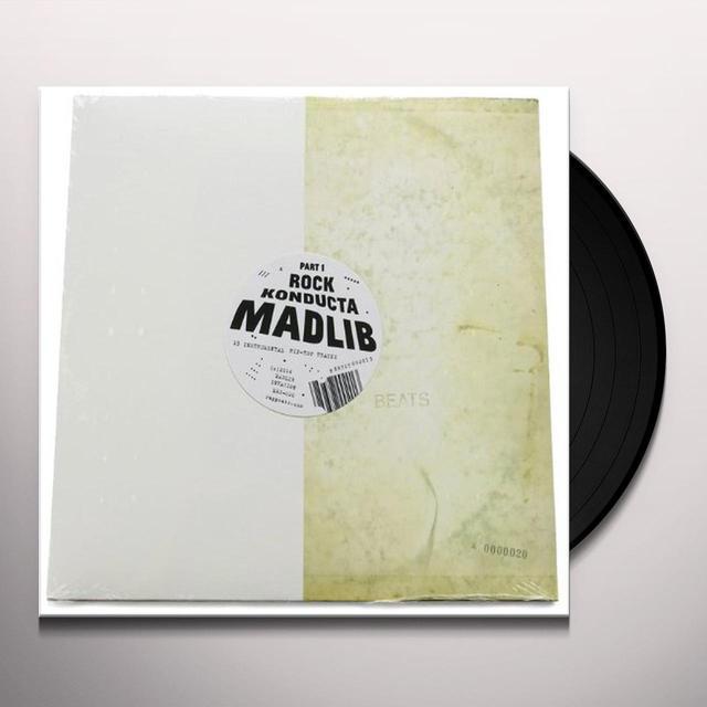 Madlib ROCK KONDUCTA PART ONE Vinyl Record
