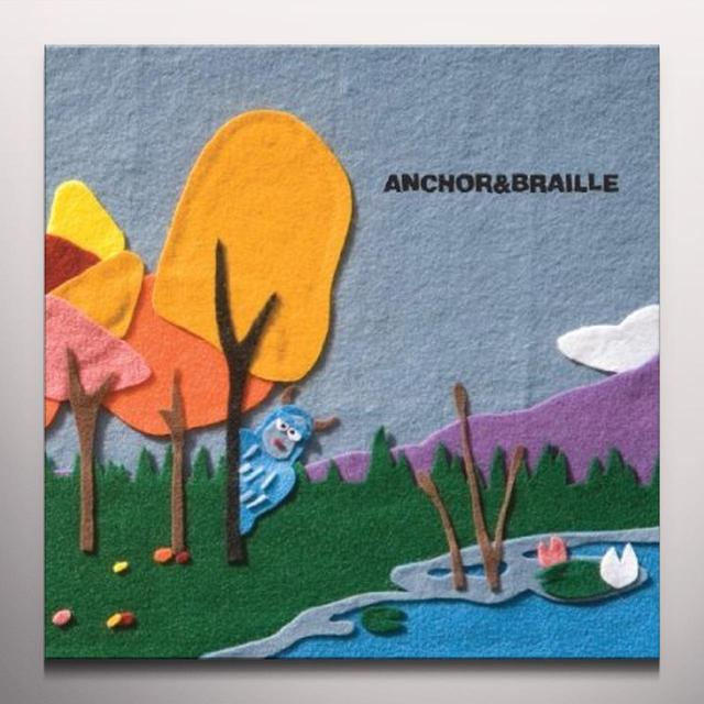 Anchor & Braille SOUND ASLEEP Vinyl Record - Colored Vinyl, Limited Edition
