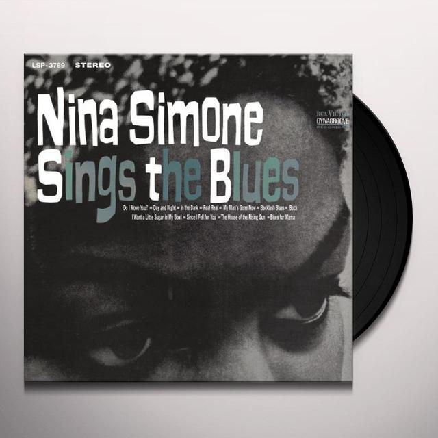 Nina Simone SINGS THE BLUES Vinyl Record - Holland Import
