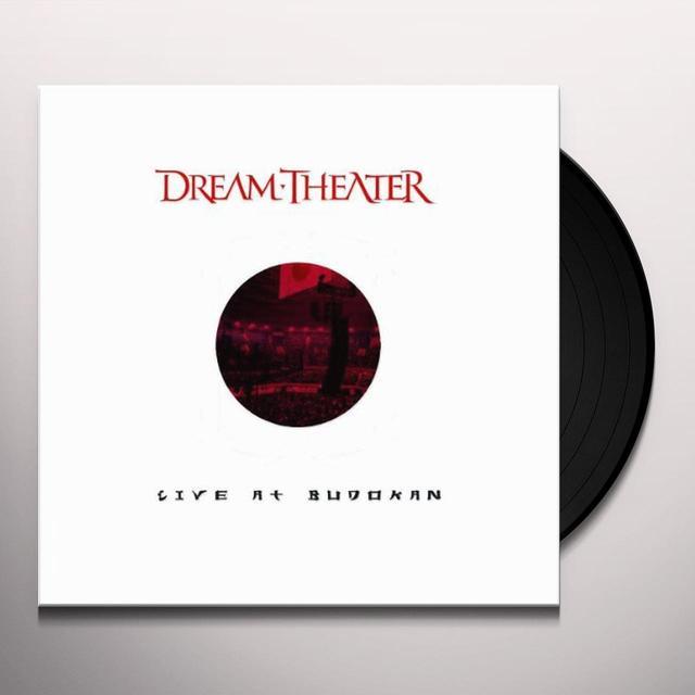 Dream Theater LIVE AT BUDOKAN Vinyl Record - 180 Gram Pressing
