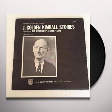 Hector Lee J GOLDEN KIMBALL STORIES & BROTHER PETERSON YARSNS Vinyl Record