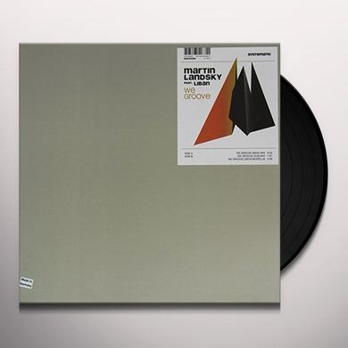 Martin Landsky WE GROOVE (EP) Vinyl Record